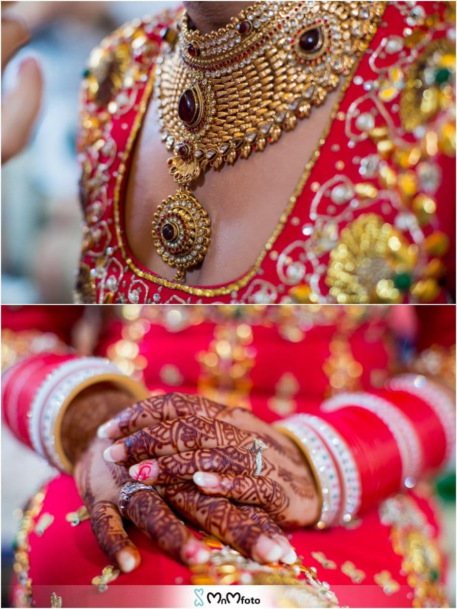 New York Indian Wedding Photographer Panjabi Bride Getting Ready Makeup