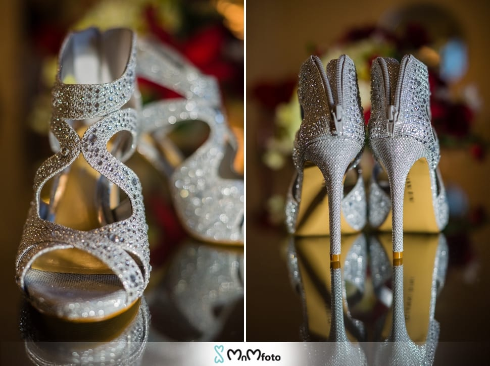 Rockwall Wedding Chapel Photography By MnMfoto Bride Shoes