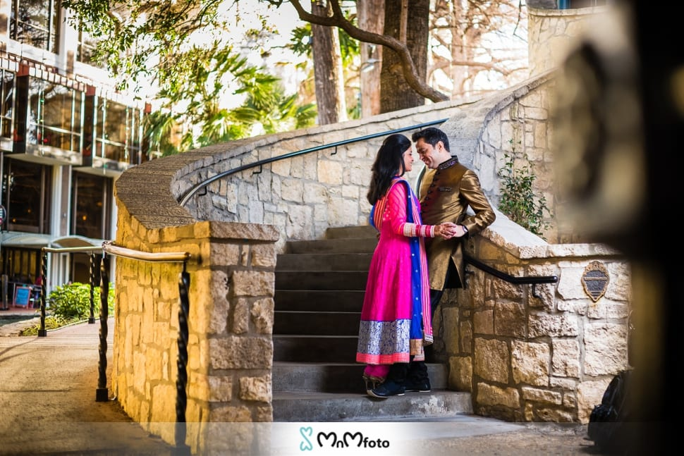 San Antonio Photographers Riverwalk Engagement Photos Mnmfoto