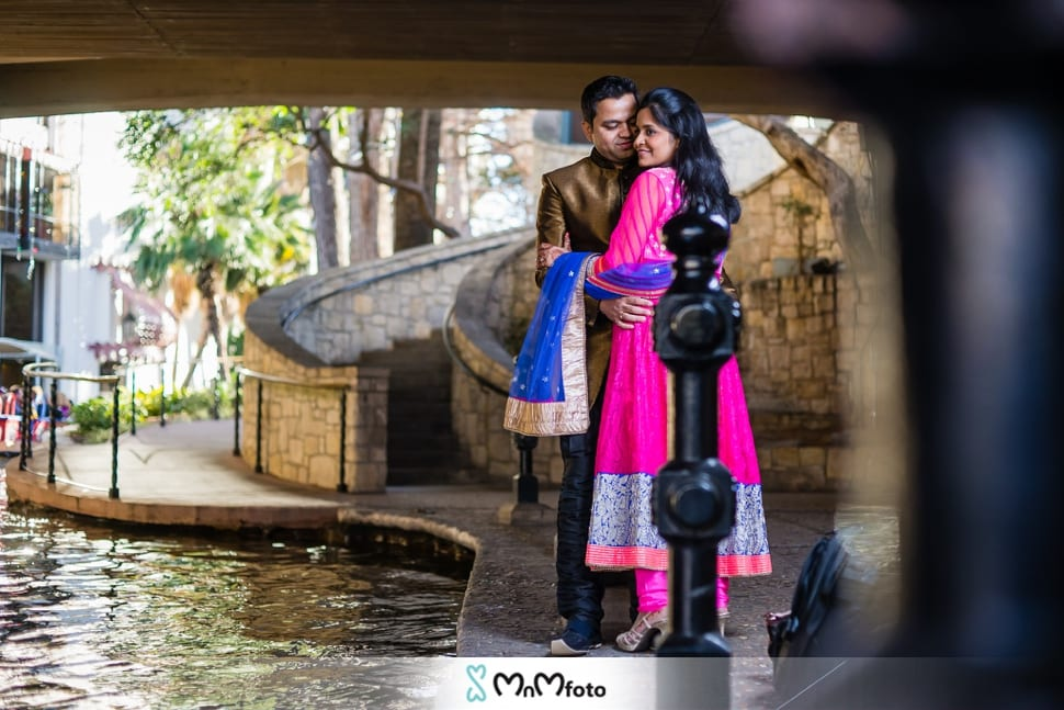 san antonio riverwalk engagement photos international wedding
