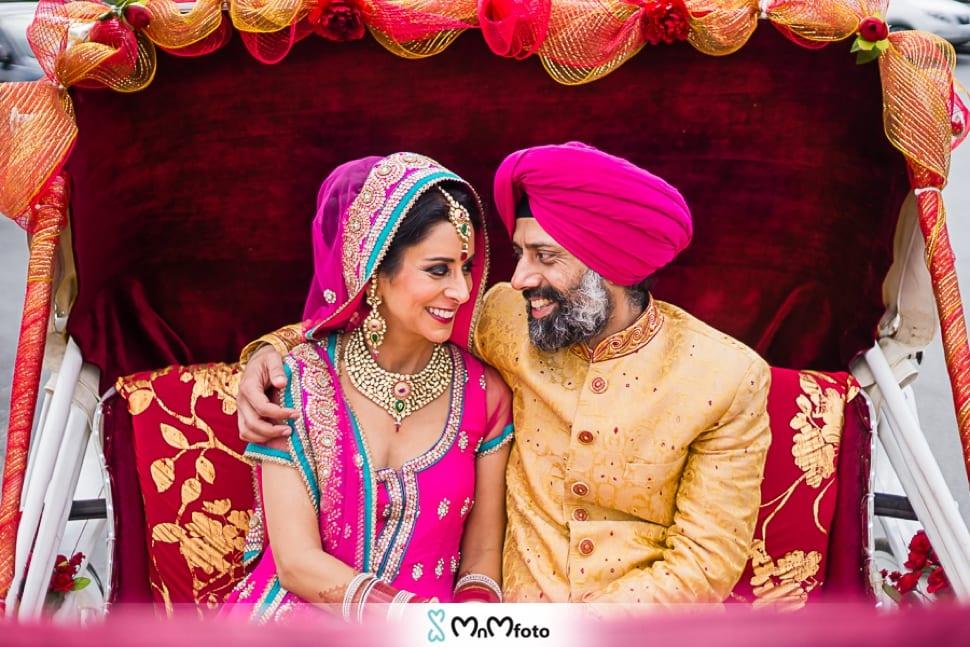Sikh Wedding Cake