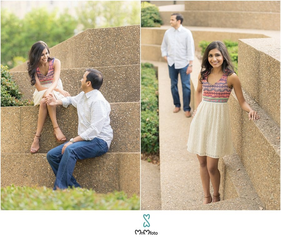 Enjoy This Romantic Collection Of Images From Manshi And Akashu0027s Adorable  Engagement Photo Shoot In Fort Worth, Texas.