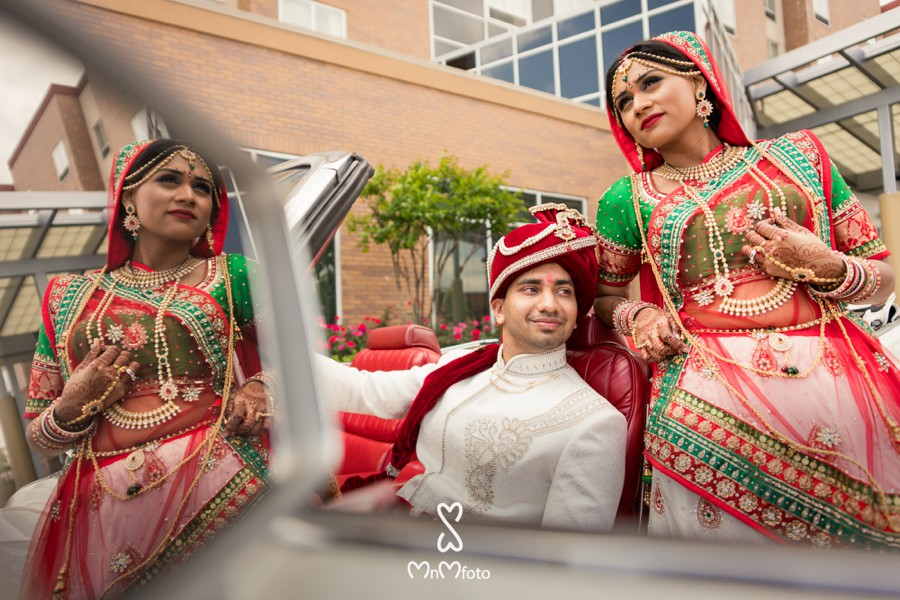 Hyatt Dallas Gujarati Indian Wedding Modern Contemporary Style