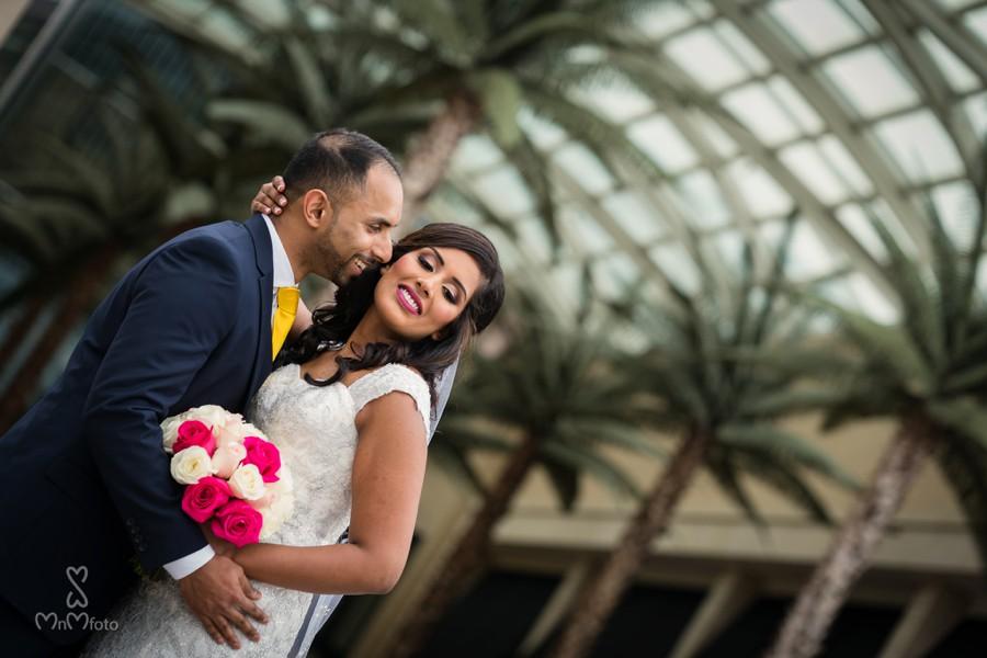Indian Christian Wedding At Westin Galleria Dallas