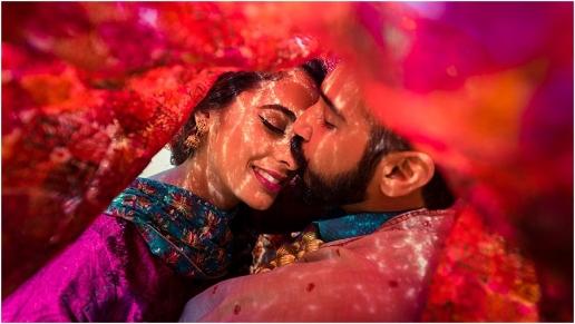 panjabi engagement photography themed photo shoot