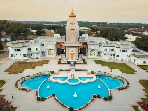 Radha madhav dham temple Indian wedding