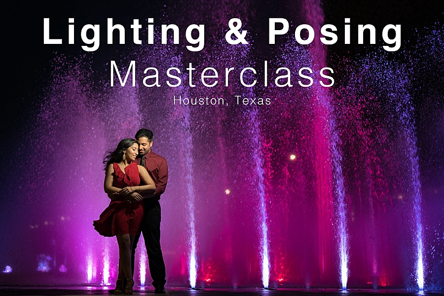 lighting and posing photography workshop Houston