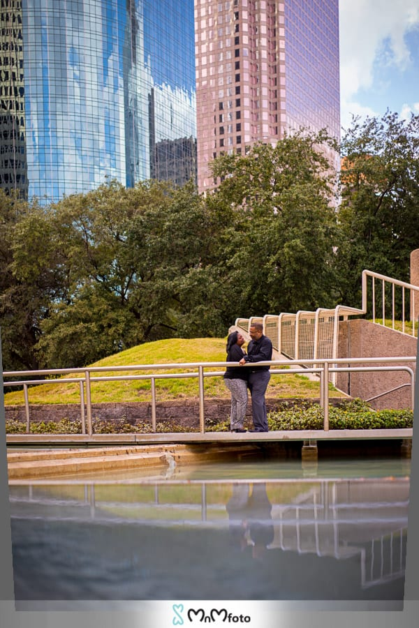 Tranquility Park Downtown – Houston, texas – Engagement ...