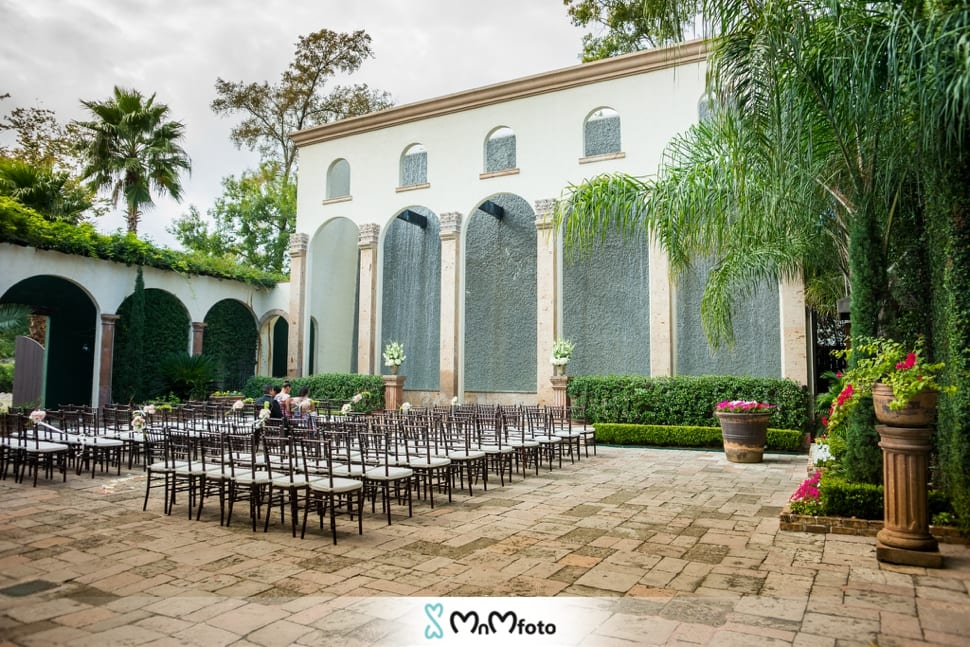 Wedding Venues In Houston Photography Waterfall Bell Tower On 34th Mnmfoto