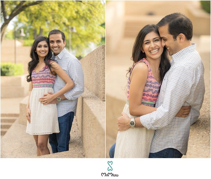 Engagement Photo shoot Water Gardens Fort Worth – Indian