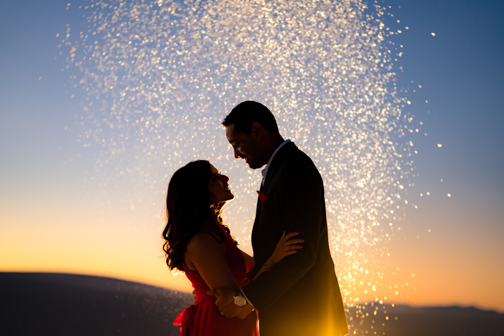 White Sands Engagement Photography New Mexico – Indian Wedding